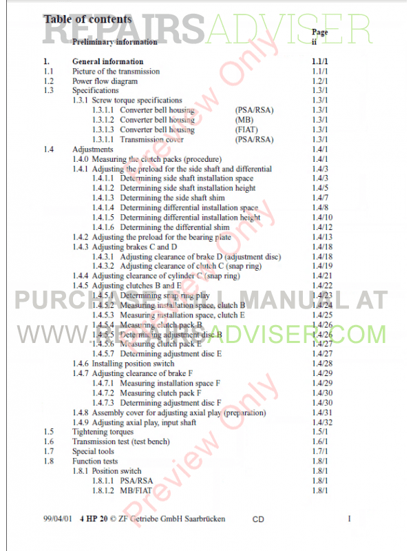 philips dptv305 dptv310 dptv315 dptv330 service manual