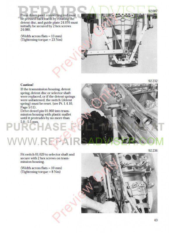 Zf 6hp26 Repair manual download