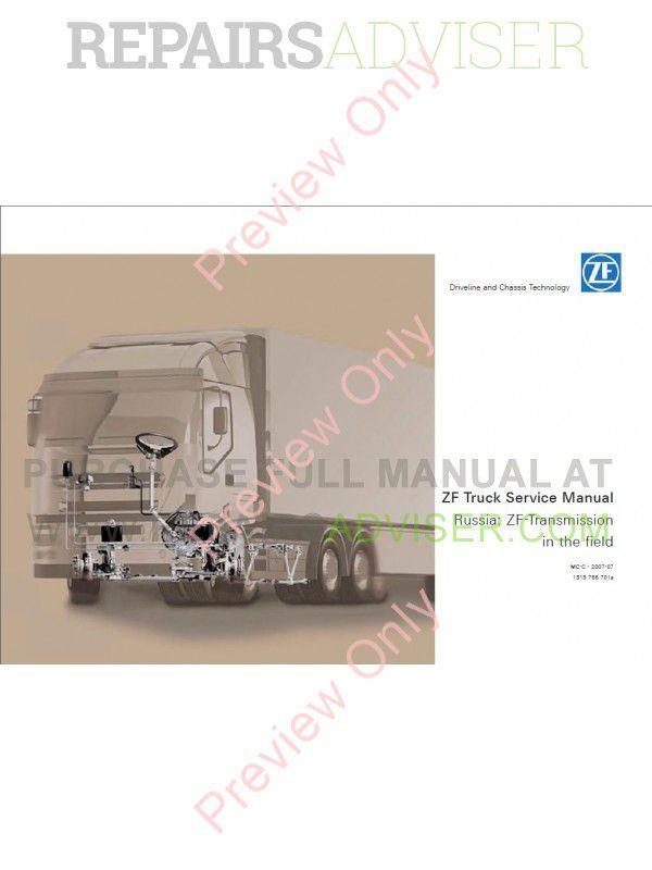 zf truck transmission service manual pdf download. Black Bedroom Furniture Sets. Home Design Ideas