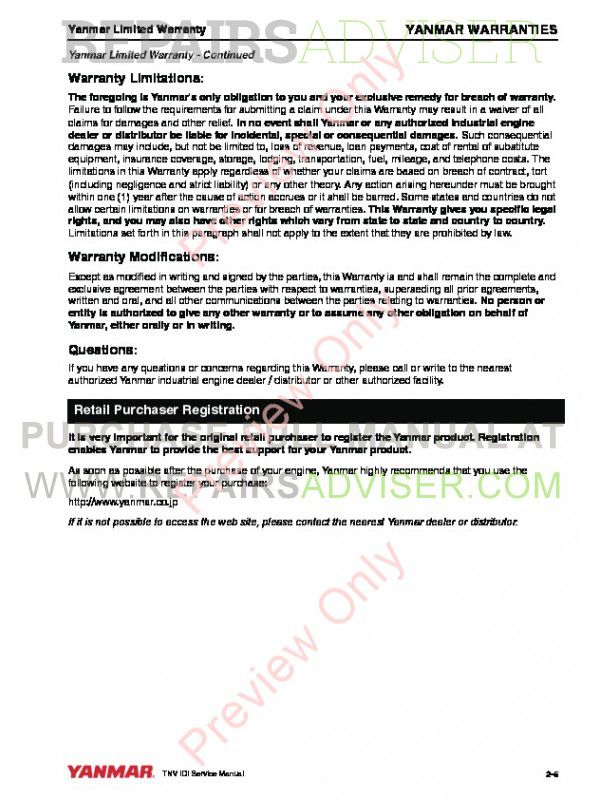 Surprising John Deere Tnv Series 2Tnv70 3Tnv70 3Tnv76 Yanmar Service Manual Pdf Wiring Digital Resources Lavecompassionincorg
