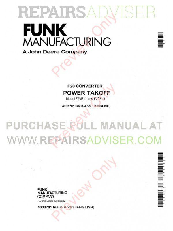 john deere model a manual pdf