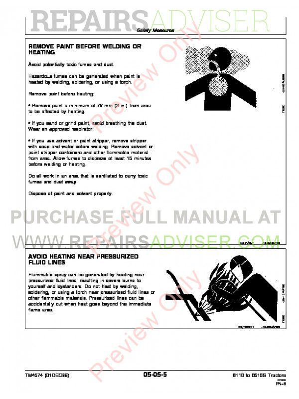 John Deere 6110-6410, 6110L-6510L and 6310S-6510S Tractors Repair Technical Manual TM-4574 PDF, John Deere Manuals by www.repairsadviser.com
