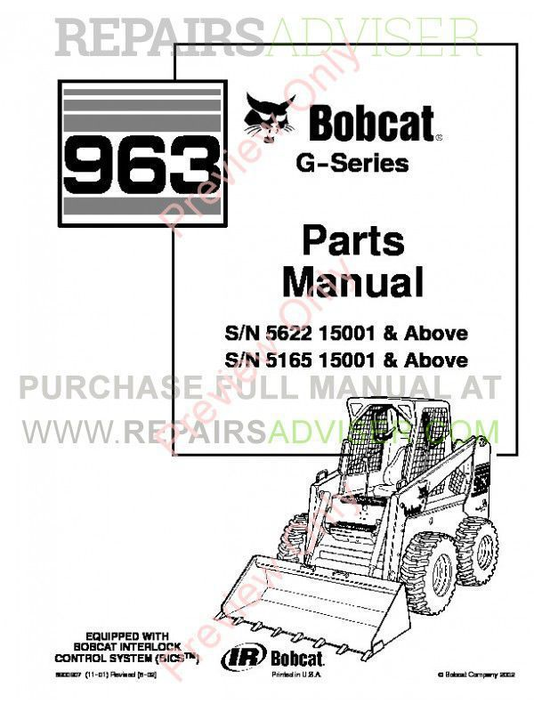 Manual for cat 963