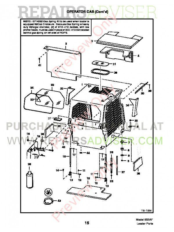 Bobcat 553 AF-Series Skid Steer Parts Manual PDF, Bobcat Manuals by www.repairsadviser.com