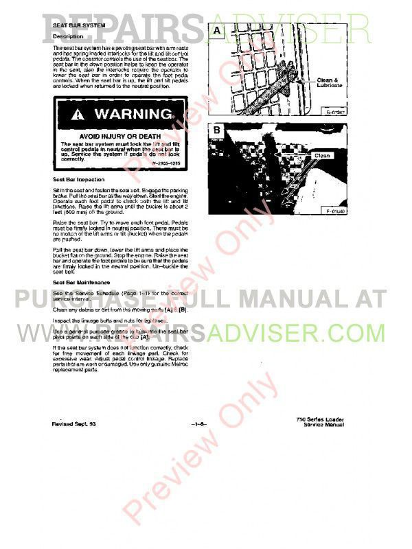 Bobcat 753 Loader Service Manual PDF, Bobcat Manuals by www.repairsadviser.com