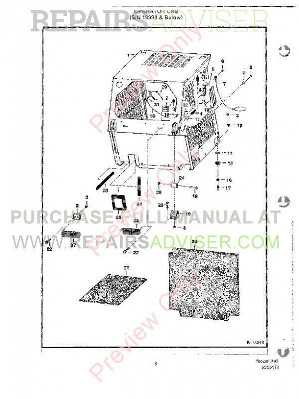 Bobcat Parts Diagram 743b