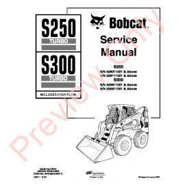 Bobcat S S Skid Steer Loader Service Repair Workshop Manual Pdf X