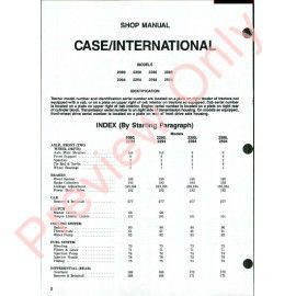 Case Service Manual Pdf X on 2390 Case Tractor Wiring Diagram