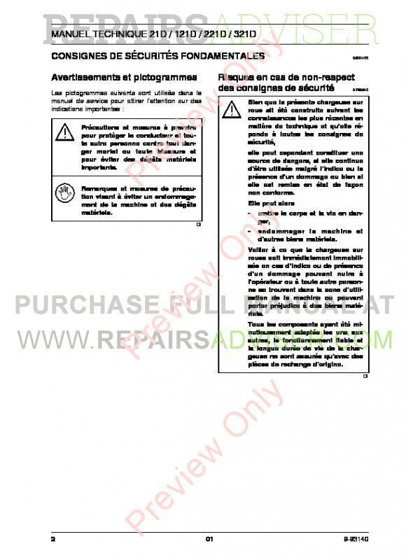 Case 21D 121D 221D 321D Small Wheel Loader Tier II Engine Technical Handbook PDF, Case Manuals by www.repairsadviser.com