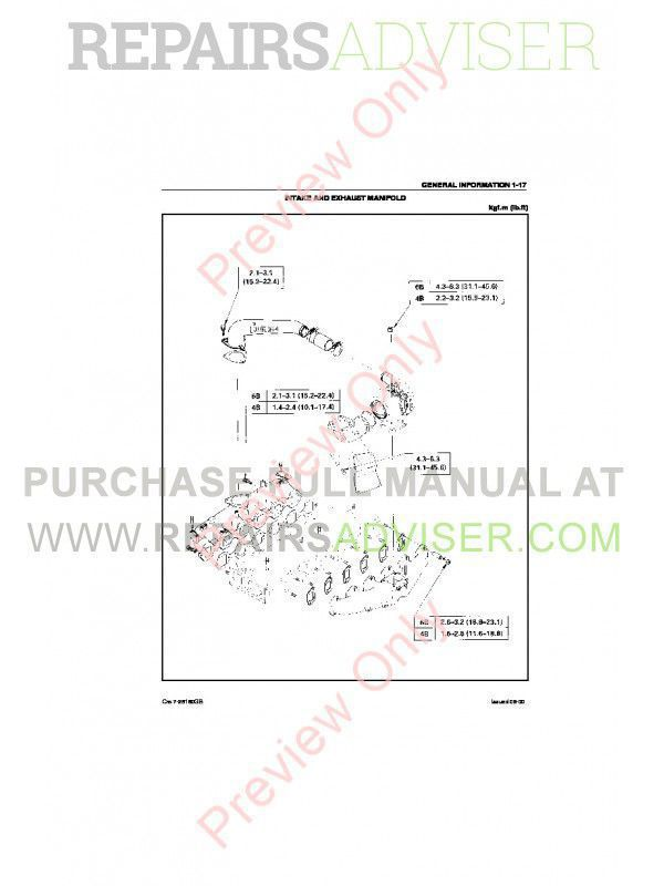 Case Isuzu Engines 4BG1T & 6BG1T Service Manual PDF, Case Manuals by www.repairsadviser.com