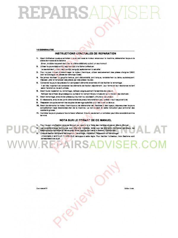 Case Isuzu Engines 4JB1 Service Manual PDF, Case Manuals by www.repairsadviser.com
