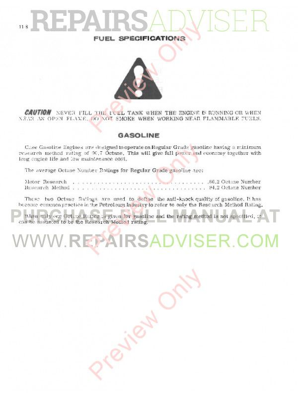Case 580CK Model B Backhoe Loader Tractor Service Manual PDF, Case Manuals by www.repairsadviser.com
