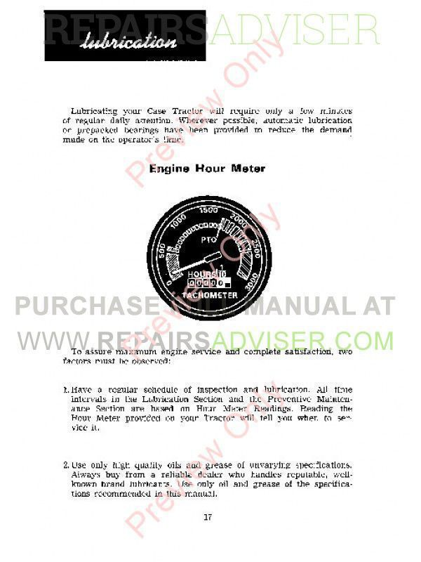 Case 580B with Shuttle Transmission Loader Backhoe Operators Manual PDF, Case Manuals by www.repairsadviser.com