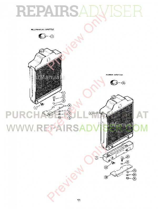 Case 580CK Series B Tractor with Shuttle Transmission Parts Catalog PDF, Case Manuals by www.repairsadviser.com