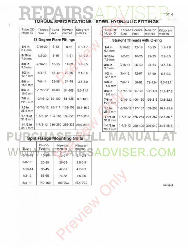 Download Case 580E Loader Backhoe PDF Service Manual