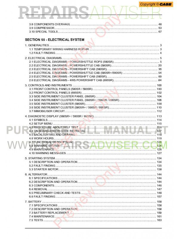 wiring diagram for 580 backhoe terramite backhoe wiring diagram apoint co