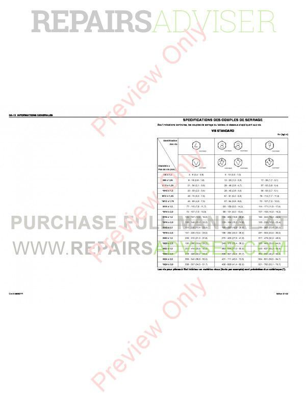 Case Isuzu Engine 6HK1 Service Manual PDF, Case Manuals by www.repairsadviser.com