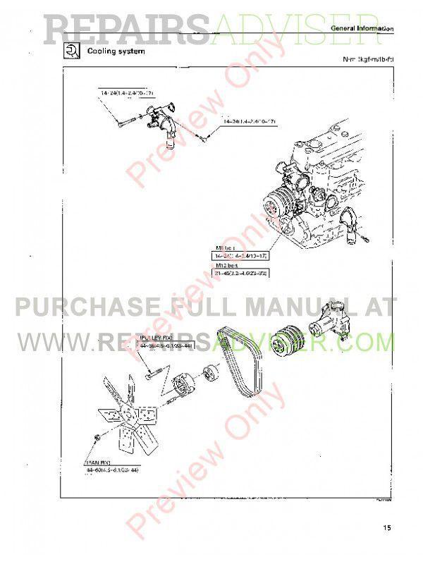 Case Isuzu Engines 6SD1T Service Manual PDF, Case Manuals by www.repairsadviser.com