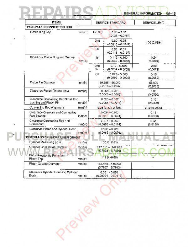 Case Isuzu Engines 6WG1T Service Manual PDF, Case Manuals by www.repairsadviser.com