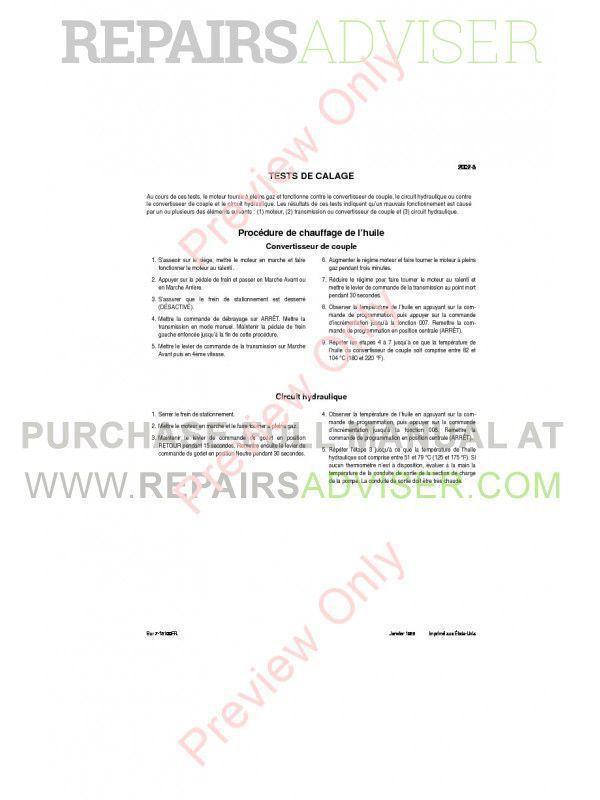 Case 821C Wheel Loader Service Manual PDF, Case Manuals by www.repairsadviser.com