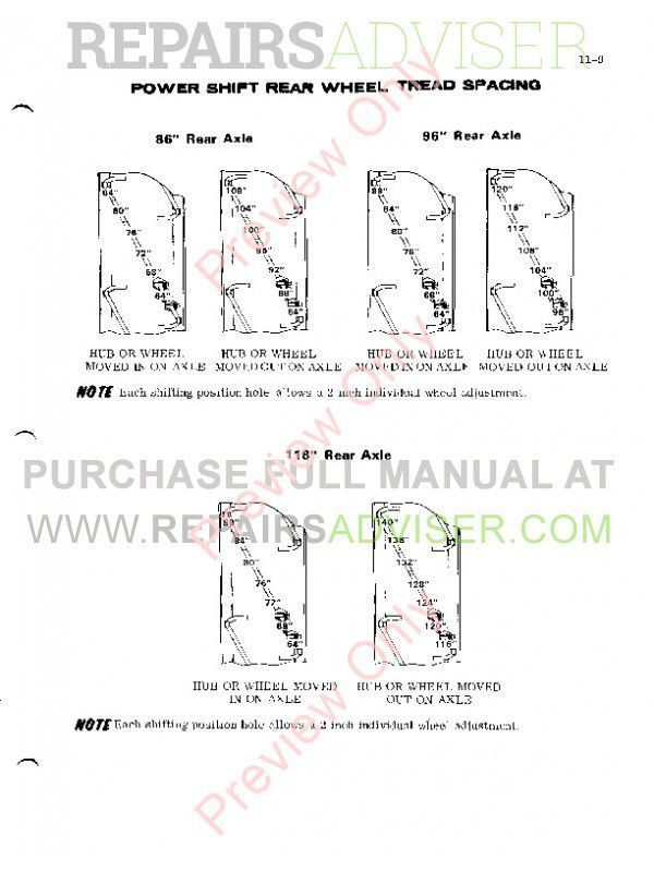 case 970-1070 tractors service manual pdf, case manuals by  www repairsadviser