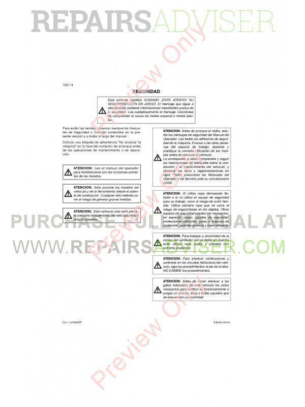 Case CX290 Crawler Excavator Repair Manual PDF, Case Manuals by www.repairsadviser.com