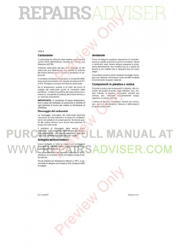 Case CX330 and CX350 Crawler Excavators Repair Manual PDF, Case Manuals by www.repairsadviser.com