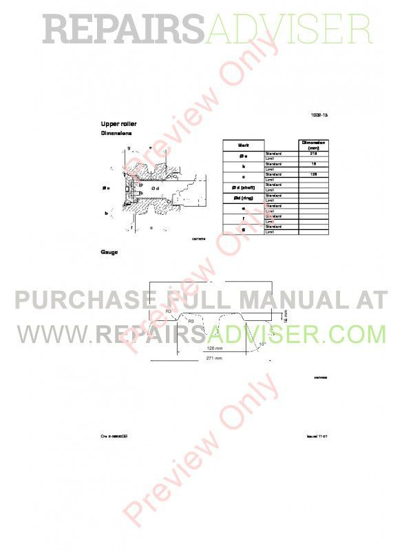 Case CX800 Crawler Excavators Repair Manual PDF, Case Manuals by www.repairsadviser.com
