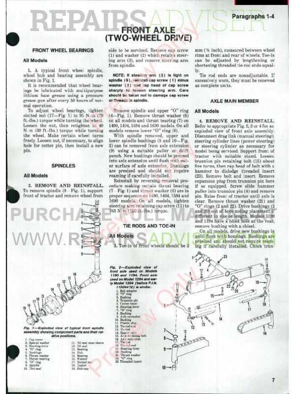 free tractor wiring diagrams case 2090 new holland l555