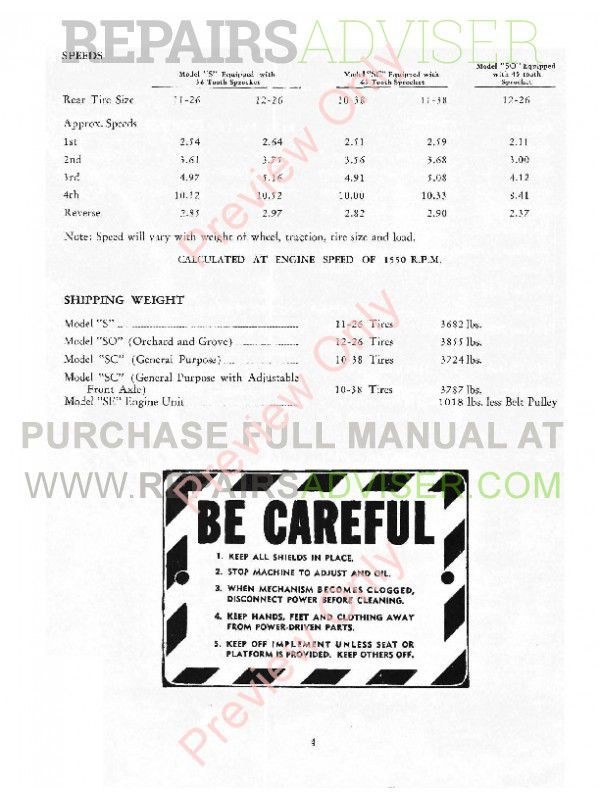 Case S Series Tractors and Engines Service Manual PDF, Case Manuals by www.repairsadviser.com