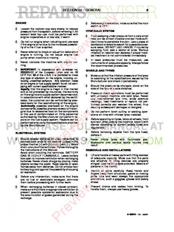 Case TX130-30/TX130-30 turbo & TX130-33/TX130-33 turbo Telehandler Workshop Manual PDF, Case Manuals by www.repairsadviser.com