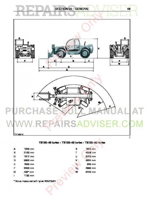 Case TX130-40 TX130-43 TX130-45 TX140-43 TX140-45 TX170-45 turbo Telescopic Handlers Service Manual PDF, Case Manuals by www.repairsadviser.com