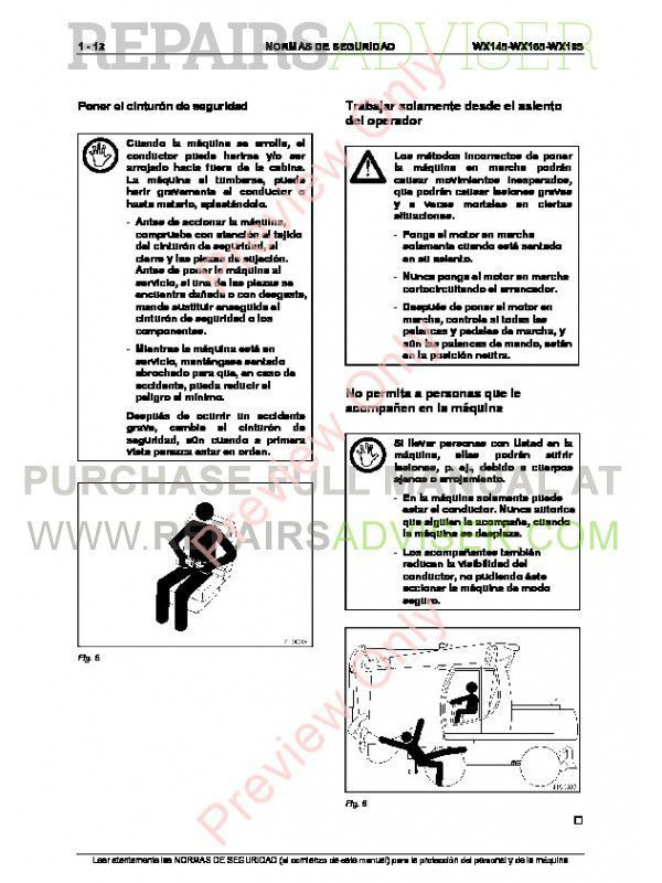 Case WX145, WX165, WX185 Hydraulic Excavators Service Manual PDF, Case Manuals by www.repairsadviser.com