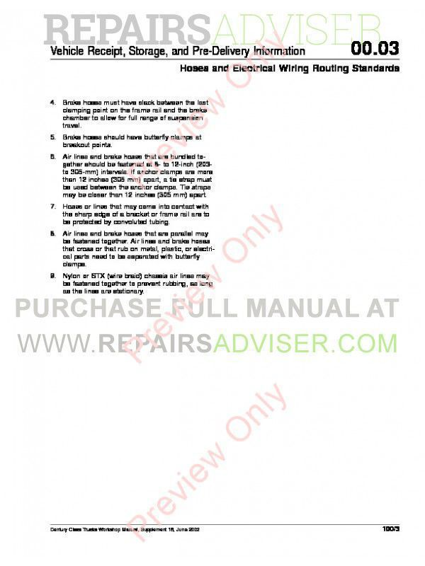 Freightliner Century Class Workshop Manual PDF, Manuals for Trucks by www.repairsadviser.com