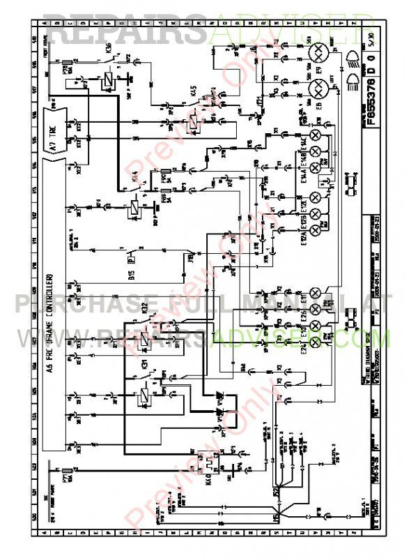 john deere forwarder 1010e electric schematics manual