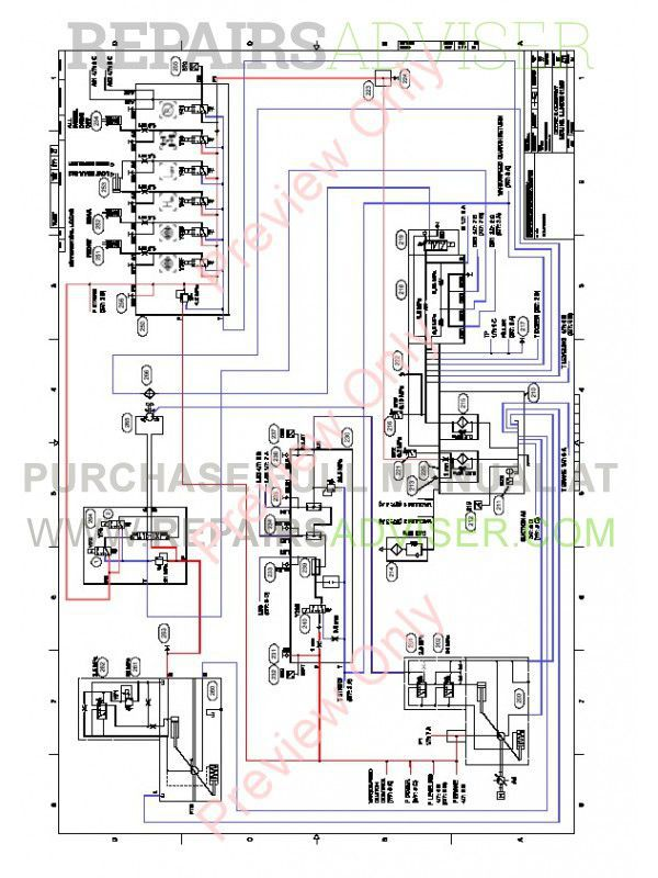 John Deere Forwarder 1010e Hydraulic Schematics Manual F674512 Pdf Download