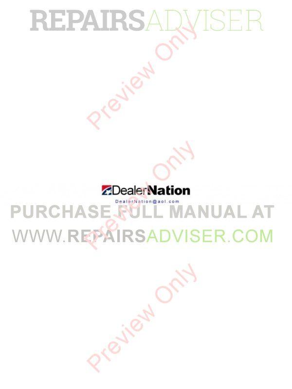 FiatAllis FD175 Crawler Dozer Operation and Maintenance Instruction + Service Manual PDF image #1