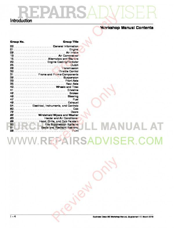 Freightliner Business Class M2 Workshop Manual PDF, Manuals for Trucks by www.repairsadviser.com