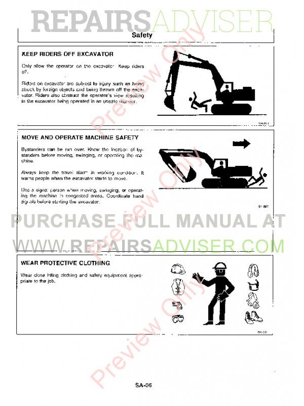 Hitachi EX1800-2 Excavator Service Manual PDF, Hitachi Manuals by www.repairsadviser.com