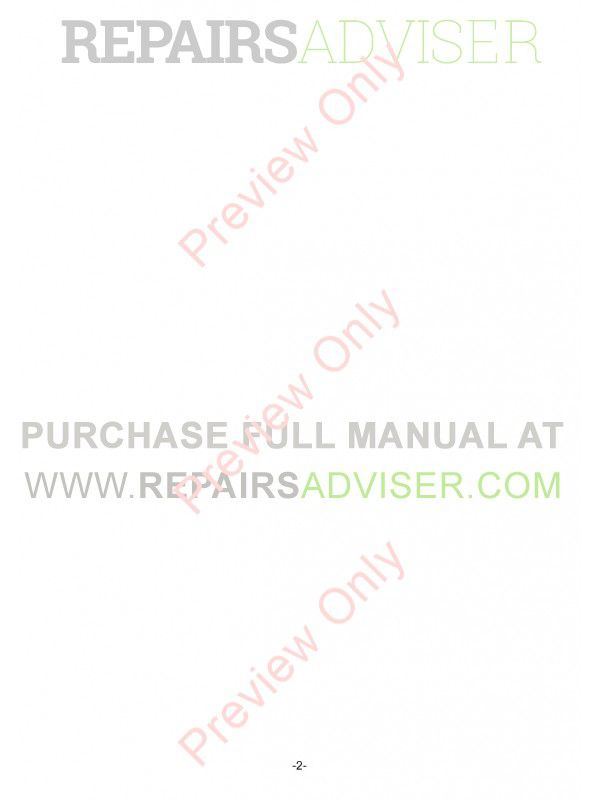 Hitachi ZW220/250 Wheel Loader PDF Manual, Hitachi Manuals by www.repairsadviser.com