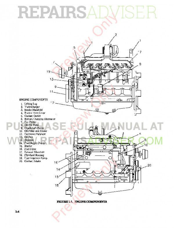 john deere 6 8l diesel engine technical manual tm 9