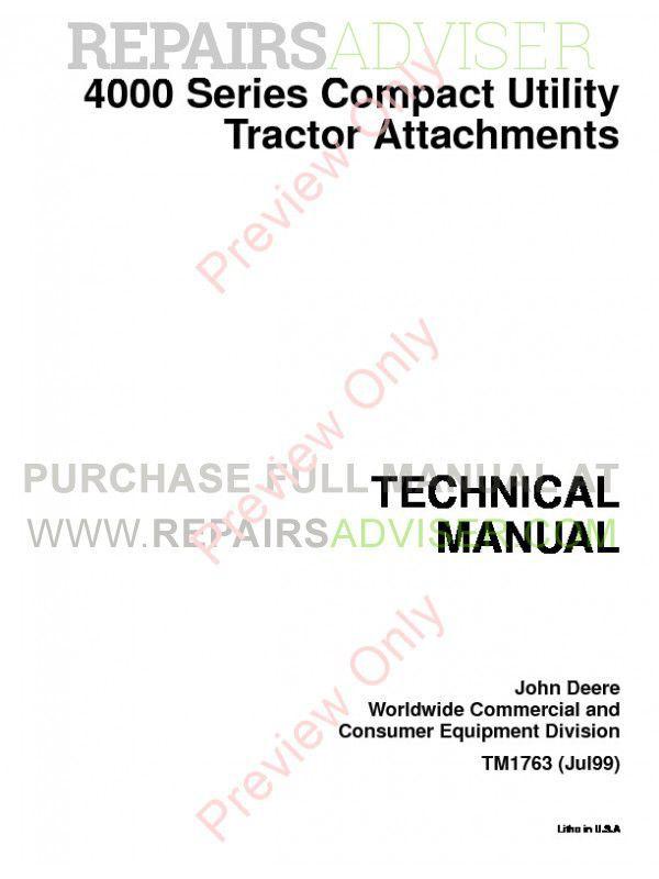 john deere 4310 service manual pdf