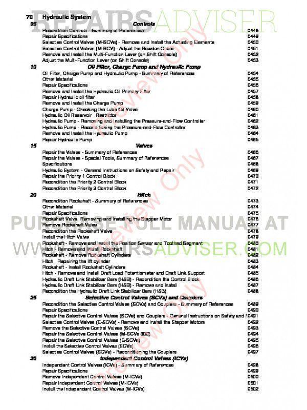 John Deere Repair Manual Pdf