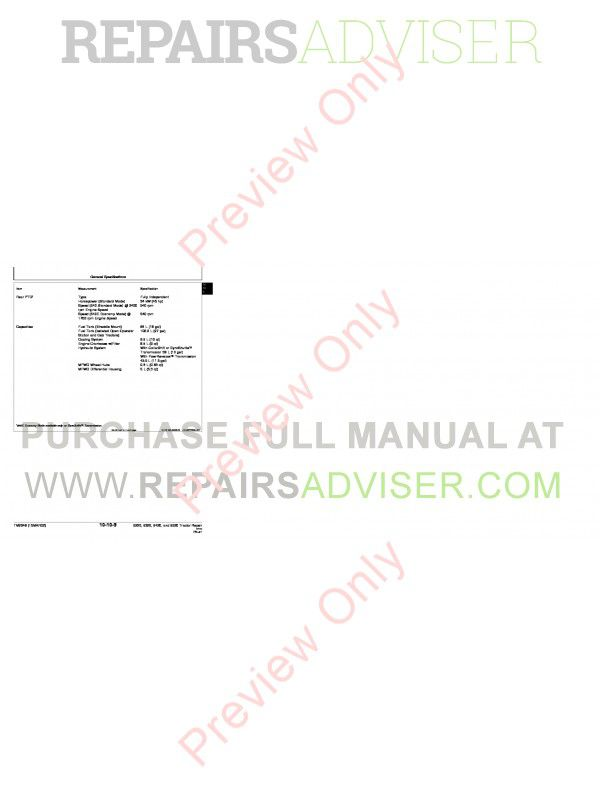 john deere 5220 5320 5420 5520 tractor repair technical manual tm-2048  pdf, john