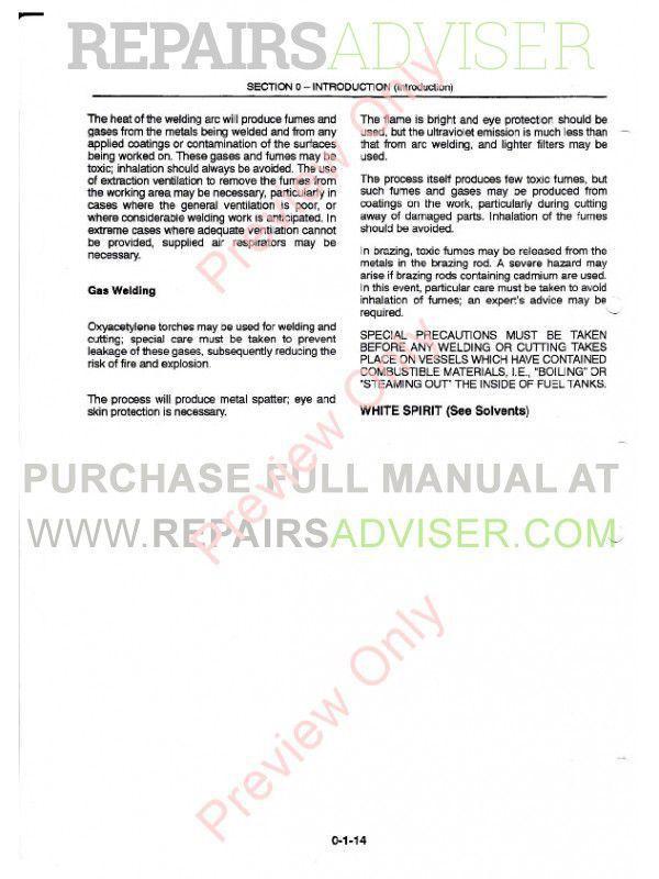 New Holland 8160 8260 8360 8560 Tractors Repair Manual PDF, New Holland Manuals by www.repairsadviser.com