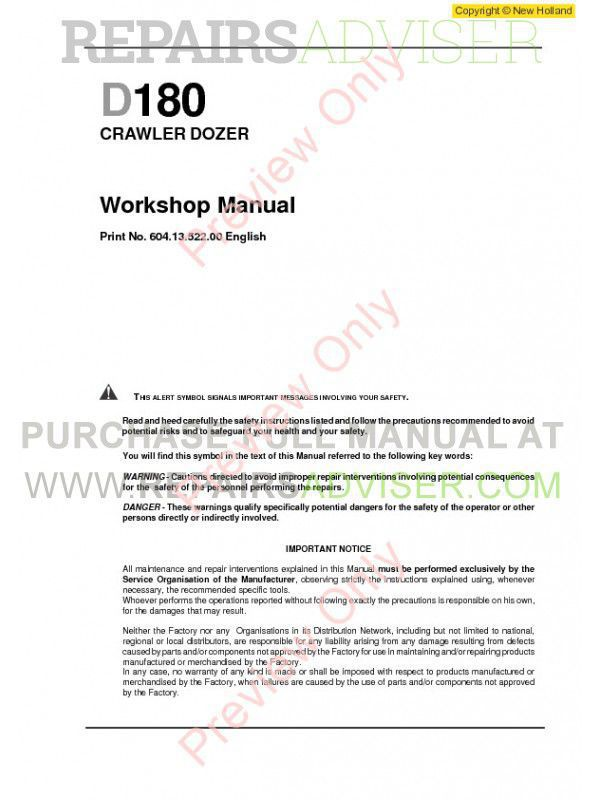New holland service manual pdf on