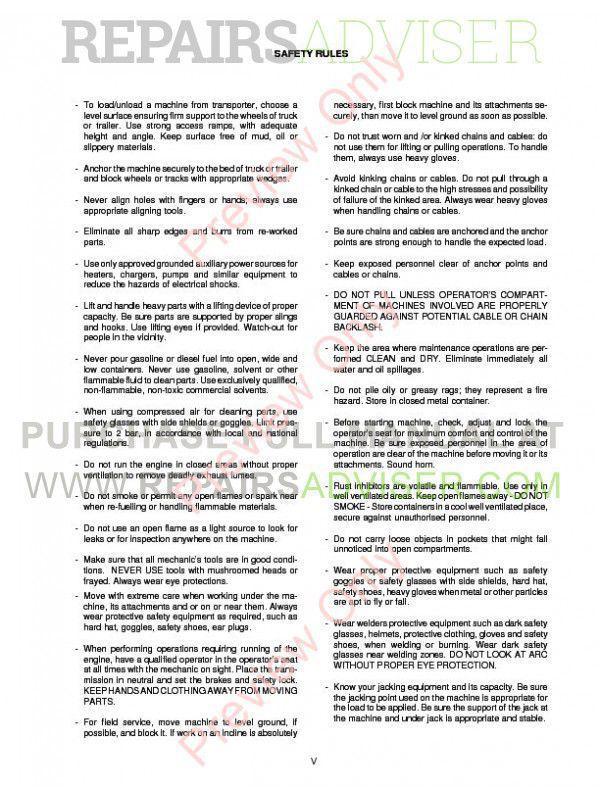 new holland service manual pdf