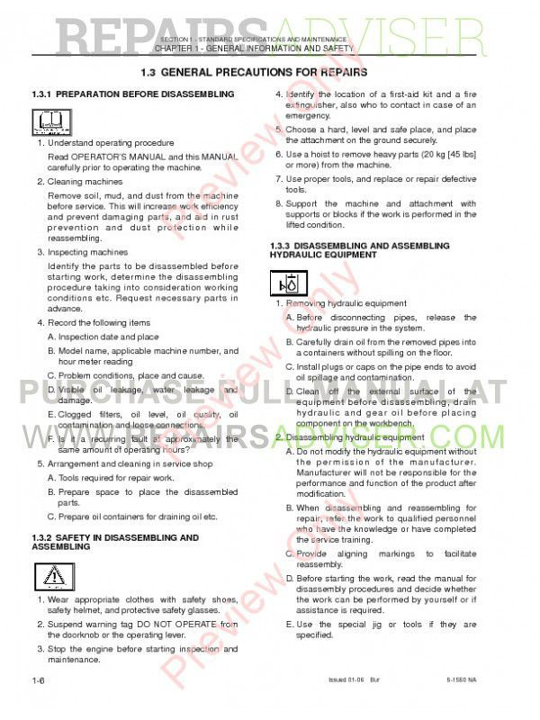New Holland E215 Crawler Excavator Shop Manual PDF, New Holland Manuals by www.repairsadviser.com