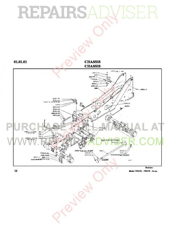 Bobcat T40140 - T40170 Telescopic Handlers Parts Manual PDF, Bobcat Manuals by www.repairsadviser.com