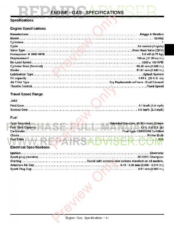 John Deere Jx75 Service Manual